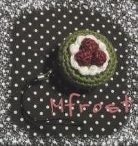 編みケーキでリールホルダー 2012/03/25 13:20:00