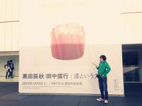 豊田市美術館に桜見に行く→黒田辰秋・田中信行|漆という力 ため息でるほど美しい。。 2013/03/23 22:09:50