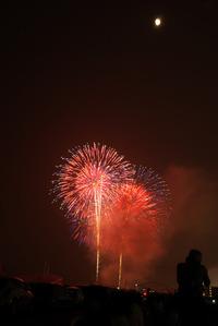 おいでんまつり花火2012 堤防より、一眼レフひっさげて撮影! 2012/07/30 19:46:13