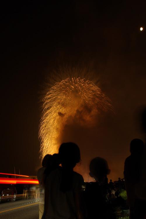 おいでんまつり花火2012 堤防より、一眼レフひっさげて撮影!