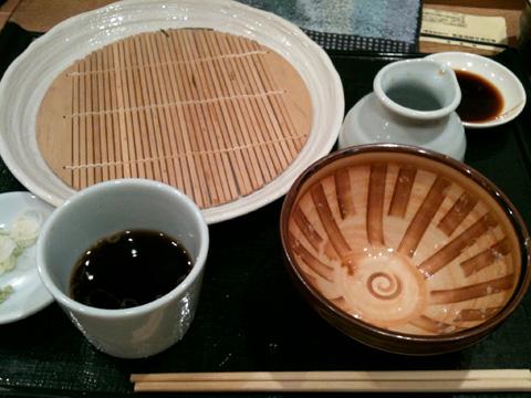 豊田市でお蕎麦がおいしいと評判の「つちや」。そして絶品ヒラメの刺身も。