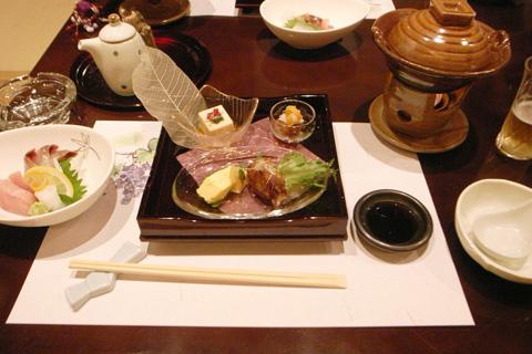 社内歓送迎会で、山路さんのお料理ウマー!!