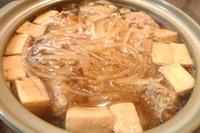 鍋と高野豆腐