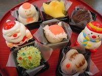 和菓子でクリスマス!