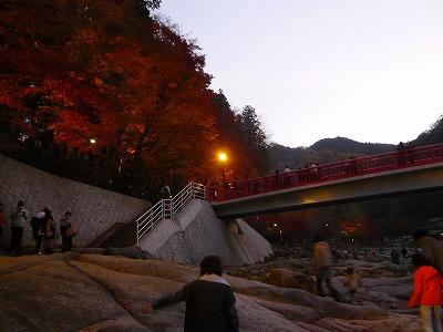 香嵐渓、抜け道(裏道)で行ってきました!渋滞なくスイスイでした。