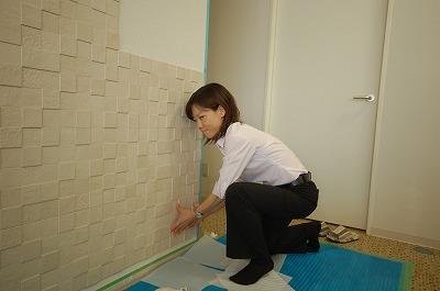 ルーコの壁をリフォーム/よつばプロデュースさんエコカラット