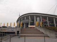豊田スタジアムで準備☆彡