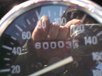 祝(*^^)v60000km