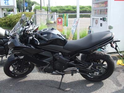 819(バイク)の日店頭試乗会