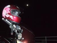 満月の夜★バイクでデート