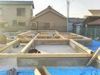 新築工事が始まります