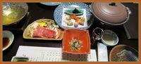 白骨温泉斎藤旅館介山荘の食事は・・・