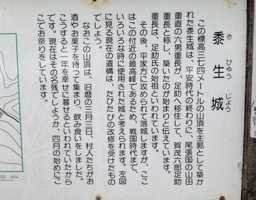 ゆるやまトレッキング#1  【 黍生山】