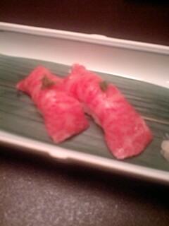 牛トロ握り寿司