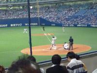 森野選手VSドアラ (=^・^=)