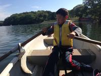 ボート漕ぎat 鞍ヶ池