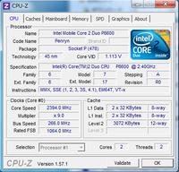 Core2DuoとCore i7-2670QMの違い