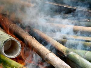 竹炭作りは過酷です!