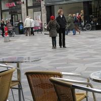 北欧のとある広場にて