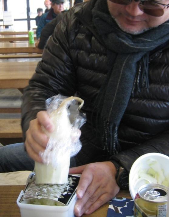 焼き牡蠣ツアー