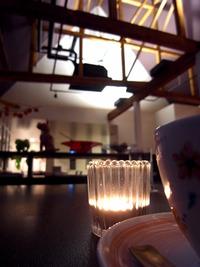 夜カフェ....