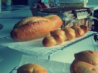 フランスパンなど・・・