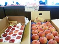 豊田産の桃、到着!
