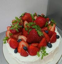 身内のバースデーケーキは^^;
