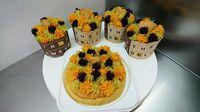 7匹ワンちゃんカップケーキ