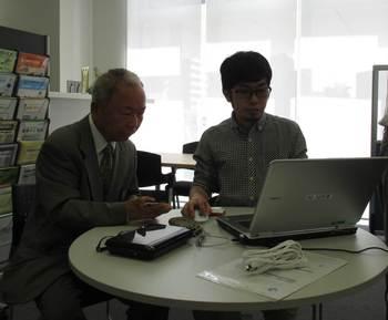 快活水産馬場さんとSUNコーポレーション小野さんの熱き挑戦!