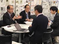 【オカビズ視察】東海財務局さんと意見交換実施 2017/04/04 10:48:35