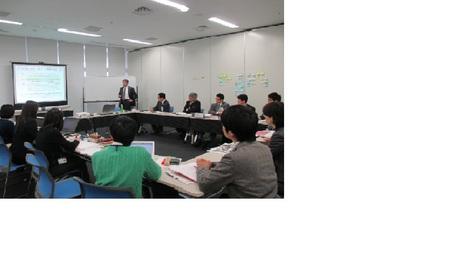 富士市産業支援センターf-Biz・センター長小出宗昭さんによるOKa-Bizスタッフ研修