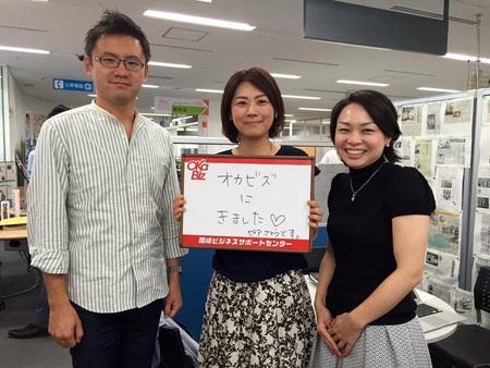 オカビズに日経woman「ウーマンオブザイヤー」受賞の佐藤真琴(さとうまこと)さんがお越しくださいました!