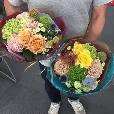 素敵な花束で誕生日のお祝いを♪