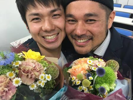 デザインアドバイザーの稲波と、コピーライターの松田の誕生日です!
