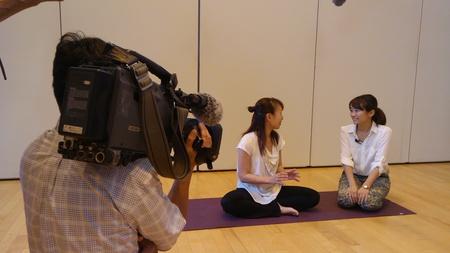 AIKIDS上田さんのキッズヨガ教室が名古屋テレビ「ドデスカ!」で紹介されました!