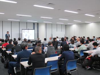 我武者羅應援團、團長の武藤貴宏さんに講演にお越しいただきました。