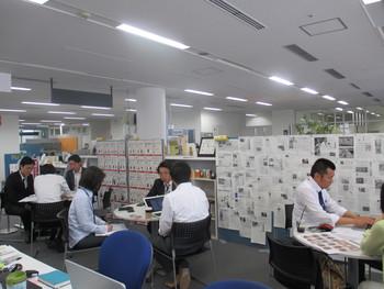 ある日のOKa-Biz相談風景・4ブースが満席に!!