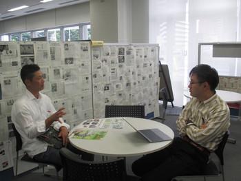 就農3年目!イチゴ農家の伊藤さん、新商品開発・販路開拓のご相談でお見えになりました!