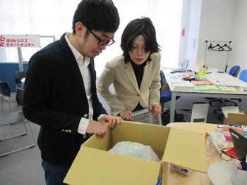 「恋する♡デメキン」商品パッケージも一緒に考案!!粟久金魚・杉田さん