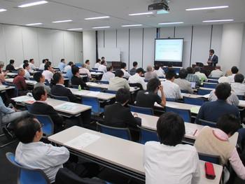 ゼロスポーツ創立者・中島徳至氏講演会・盛況に終了しました