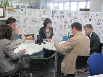 富士市産業支援センターf-Biz・センター長、小出さんの特別相談会