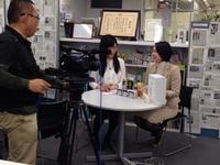 女性活躍をテーマに日経CNBCからの取材いただきました~。