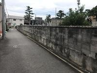 名古屋市でブロック塀の解体からの擁壁工事完成です。