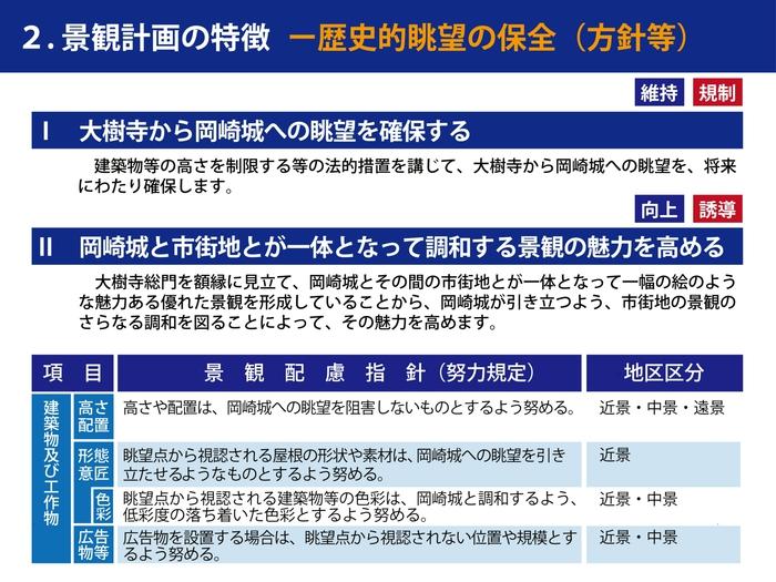 岡崎市の景観まちづくりの取組その5