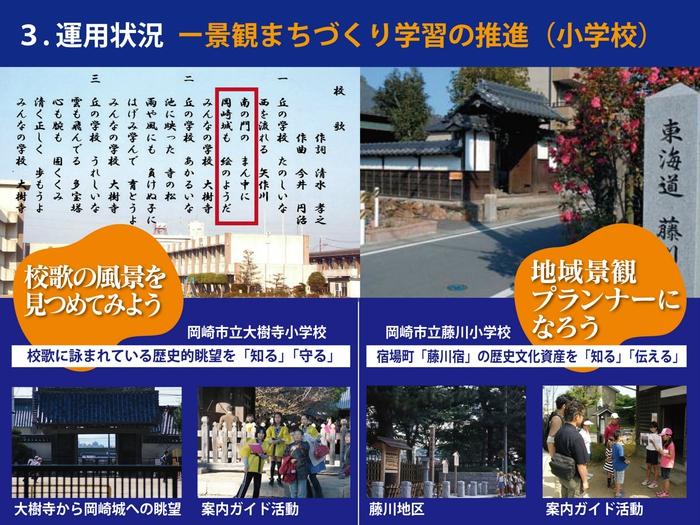 岡崎市の景観まちづくりの取組その7