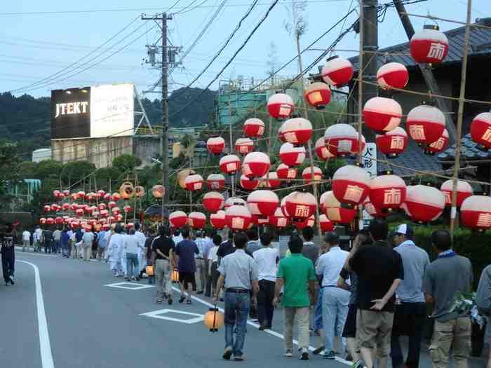 天王山祭り
