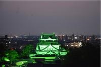 岡崎城のライトアップ!