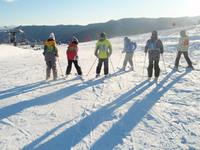 竜城スキー教室!