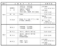 【センター試験】がんばれ受験生!初日